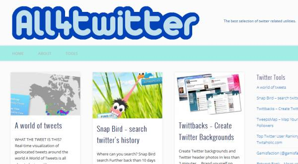 All4Twitter WEB